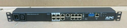 APC Netbotz 250 Environment Monitoring Appliance NBRK0250 1u Rack Mount